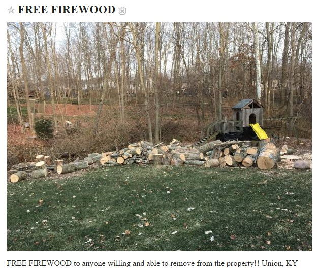 Where To Get Free Firewood