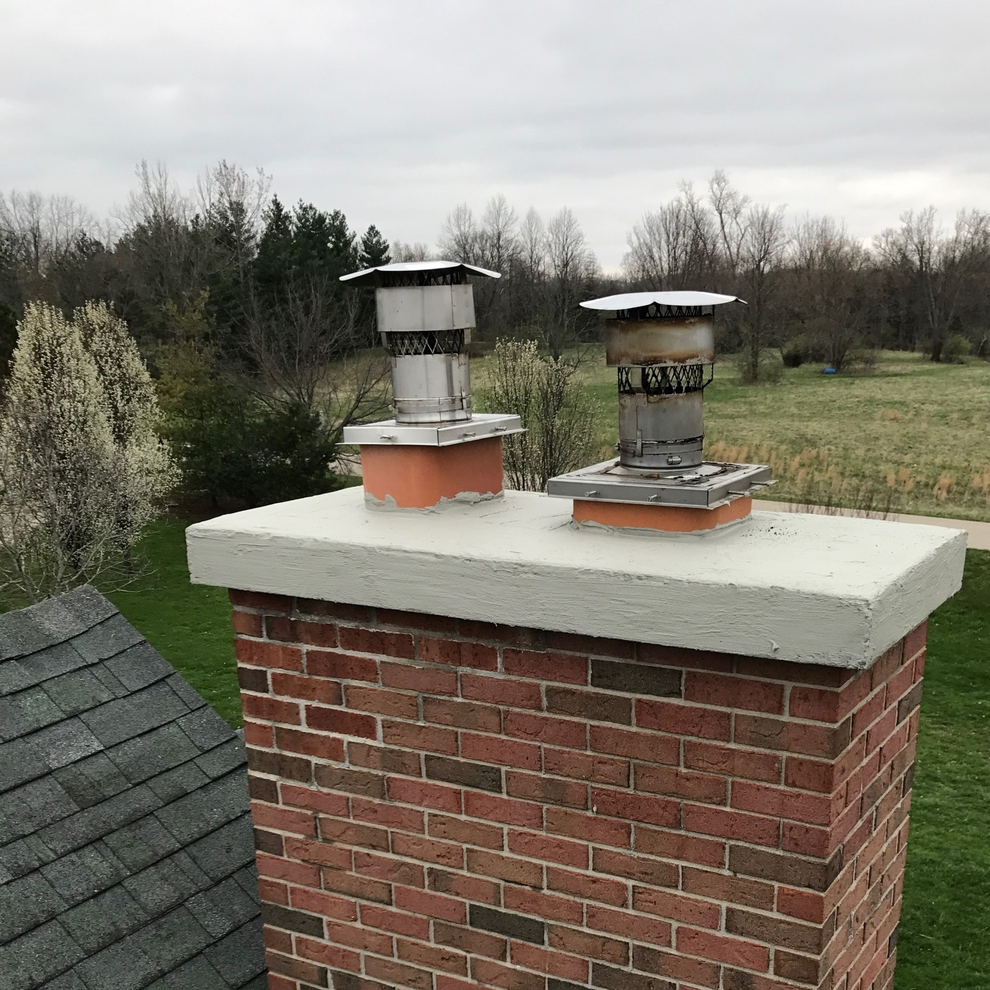 Chimney with CrownCoat