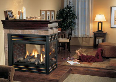 Regency P131 Gas Fireplace Pier