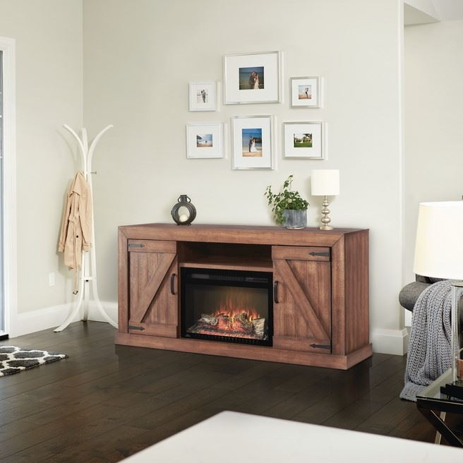 TV Stands With Fireplaces